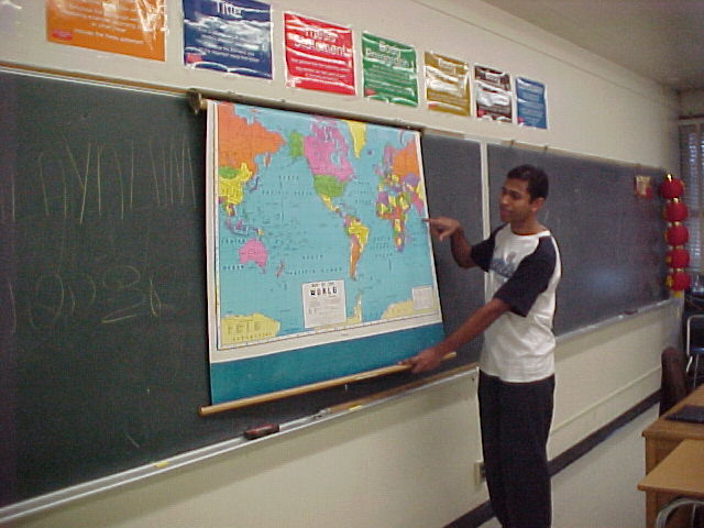 Student teaching Malayalam